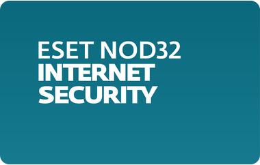 Антивирус ESET NOD32 Internet Security лицензия на 2 год на 3 ПК, продление