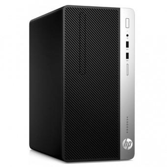 Компьютер HP ProDesk 400 G6 MT [6CF47AV+70821674], Intel Core i5-9500/ 8 GB DDR4/ 1 TB HDD + 256 GB SSD/ DVD-R