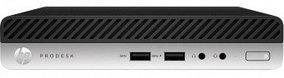 Компьютер HP ProDesk 400 G5 Desktop Mini (6GE67AV+70827603), Intel Core i5-9500T/ 8GB/ 1 TB + 256 GB SSD/ DOS