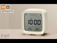 Часы Умный Будильник Термометр Гигрометр Xiaomi Mijia