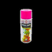 Флуоресцентная аэрозольная краска Розовый ASMACO 400 мл