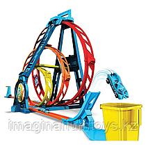 Набор Игровой Hot Wheels Конструктор трасс «Тройная петля» GLC96