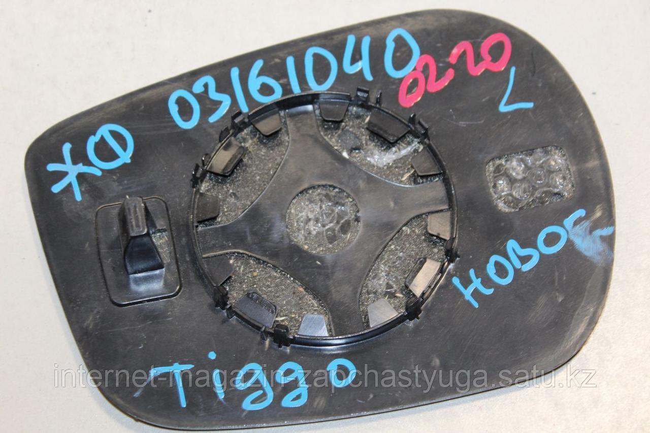 T118202107 Зеркальный элемент левый для Chery Tiggo T11 2005-2015 Б/У - фото 3