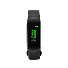 Smart band, colorful 0.96 inch TFT, pedometer, heart rate monitor, 80mAh, multi-sport mode, compatib