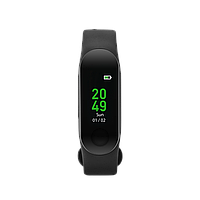 Smart band, colorful 0.96 inch TFT, pedometer, heart rate monitor, 80mAh, multi-sport mode, compatib, фото 1
