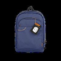 """Backpack for 15.6"""" laptop material nylon Blue"""