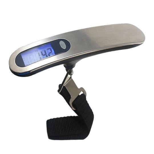 Стильные электронные весы для багажа (до 50 кг)