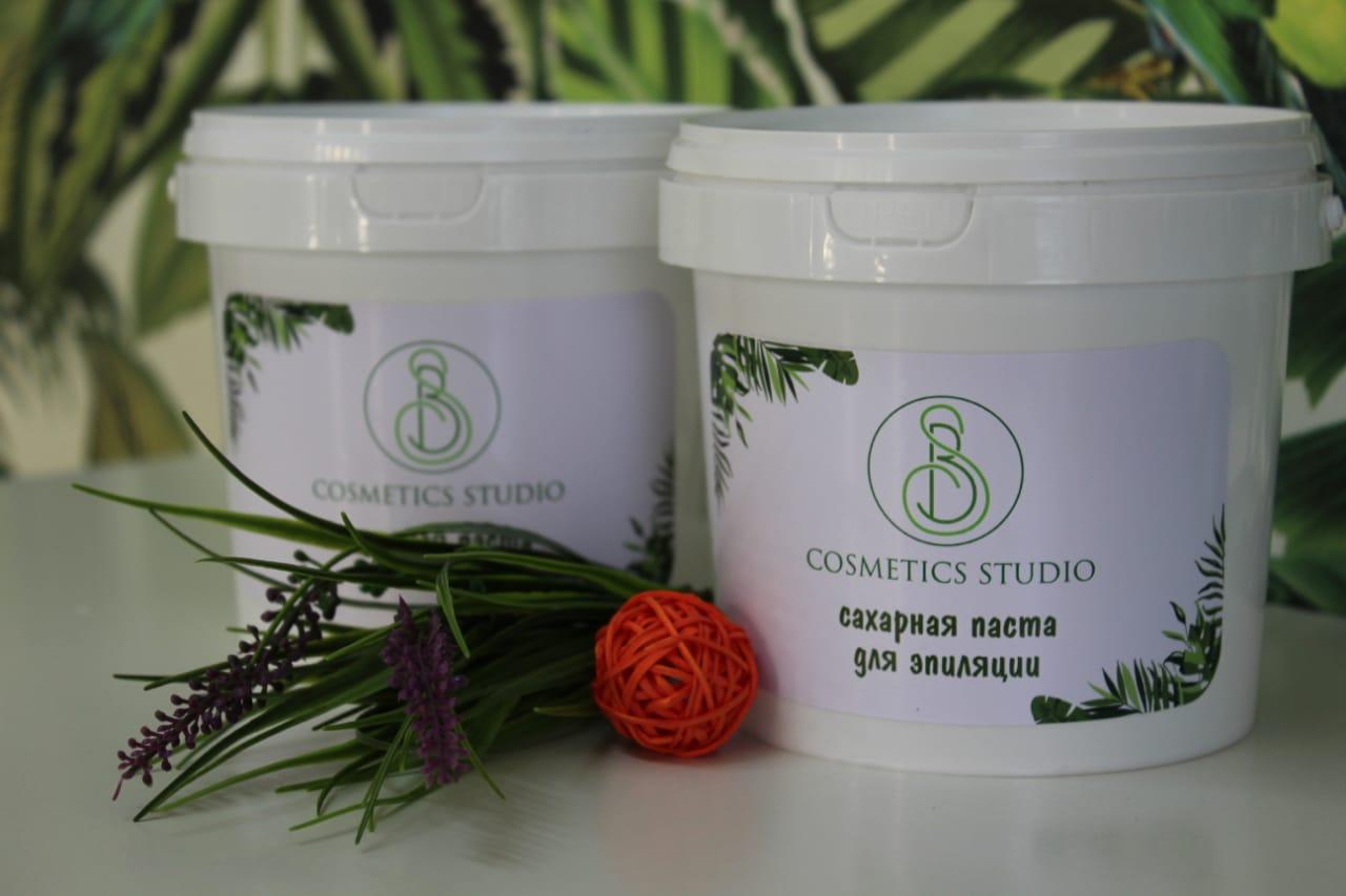 COSMETICS STUDIO профессиональная сахарная паста для эпиляции 1000гр
