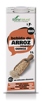 """Напиток из коричневого риса и киноа """"Organic"""" Soria 1л"""