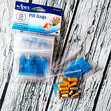Apex, Пакетики для таблеток, 50 штук Органайзер, фото 2