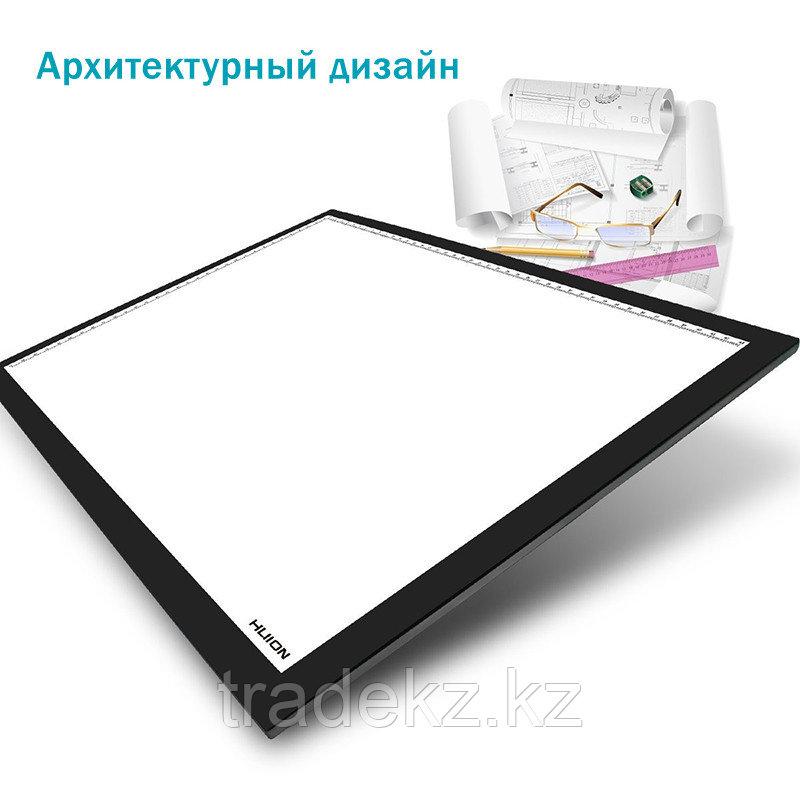LED планшет (светокопировальный) Huion A3 + перчатка