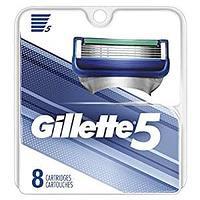 Gillette Fusion 5 (8 кассет) США лезвия триммер на задней стороне кассеты отсутствует в этой версии, фото 1