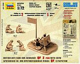 Сборная модель Британская 40мм противотанковая пушка QF c расчетом арт 6169 1\72, фото 5