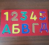Табличка с буквами для детей, фото 2