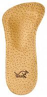 Кожаные ортопедические полустельки для обуви с высотой каблука от 5-7 см