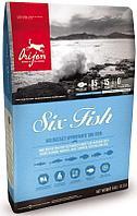 Беззерновой корм Orijen Six Fish для собак - 11.4 кг