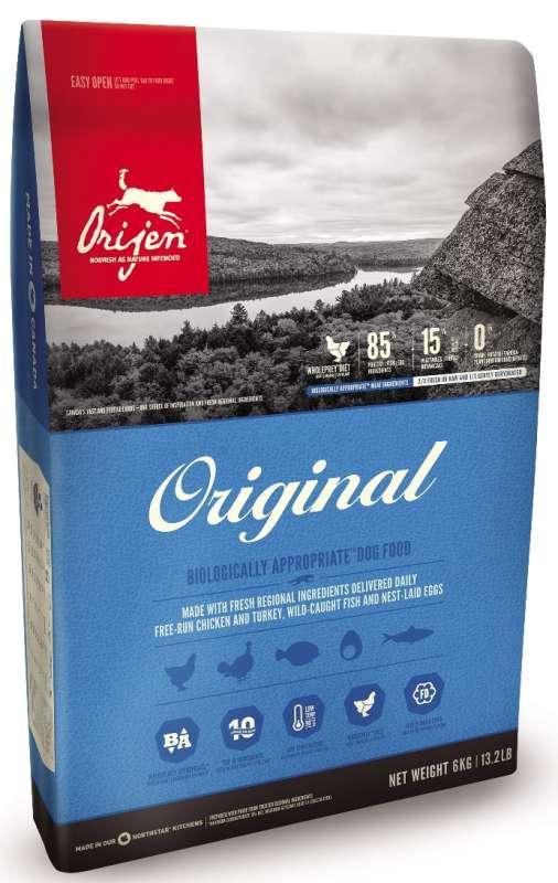 Беззерновой корм Orijen Original для собак всех возрастов - 17 кг