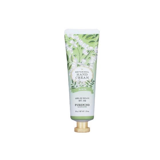 Puremind Botanical Acacia Hand Cream Увлажняющий крем для рук с питательным экстрактом акации 50 гр.
