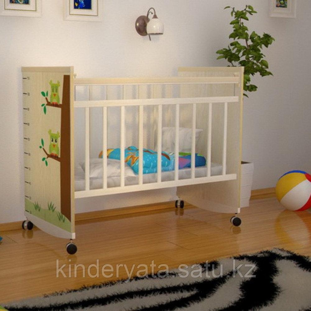 Кроватка детская Садко ВДК (колесо-качалка)