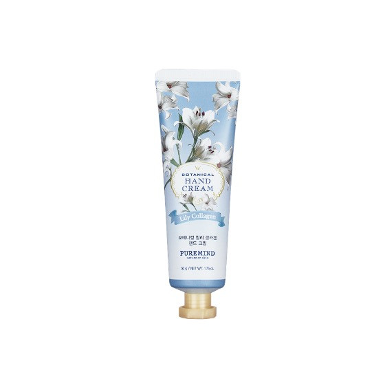 Puremind Botanical Lily Collagen Hand Cream Крем для рук с Лилией и Коллагеном 50 гр.
