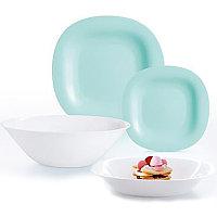 Столовый сервиз Luminarc Carine Light Turquoise&White 19 предметов