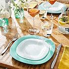 Столовый сервиз Luminarc Carine Light Turquoise&White 19 предметов, фото 2