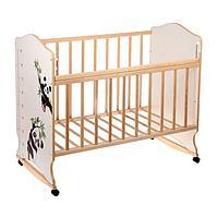 Детская кроватка ВДК Морозко колесо качалка