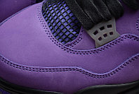 """Кроссовки Air Jordan 4(IV) """"Purple Suede"""" (40-48), фото 5"""
