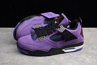"""Кроссовки Air Jordan 4(IV) """"Purple Suede"""" (40-48), фото 3"""