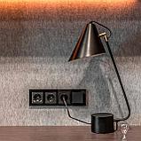 Рамка на 4 поста /WL01-Frame-04 (черный), фото 2