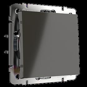 Перекрестный переключатель одноклавишный /WL06-SW-1G-C (серебряный)