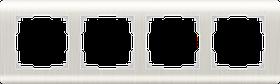 Рамка на 4 поста /WL12-Frame-04 (перламутровый)
