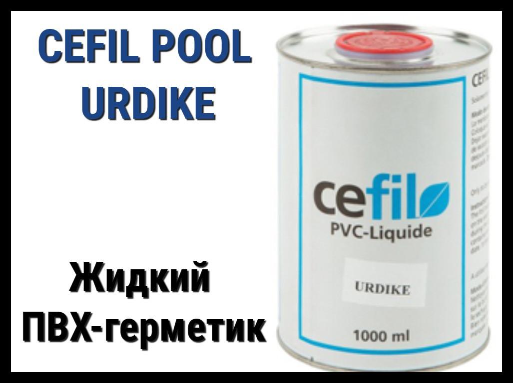 Жидкий ПВХ герметик - уплотнитель швов Cefil Urdike