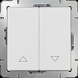 Выключатель жалюзи /WL01-01-02 (белый), фото 2
