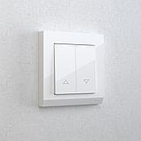 Выключатель жалюзи /WL01-01-02 (белый), фото 3