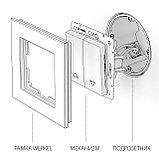 Выключатель жалюзи /WL01-01-02 (белый), фото 4