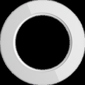 Рамка на 1 пост /WL21-Frame-01 (белый)