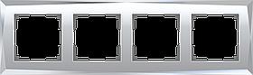 Рамка на 4 поста /WL08-Frame-04 (зеркальный)