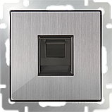 Розетка Ethernet RJ-45 /WL02-RJ-45 (глянцевый никель), фото 2