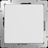 Перекрестный переключатель одноклавишный /WL01-SW-1G-C (белый), фото 2