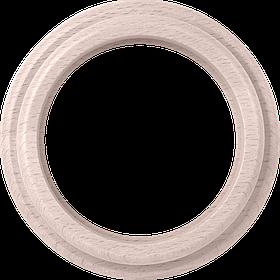 Рамка на 1 пост /WL15-Frame-01 (беленый дуб)