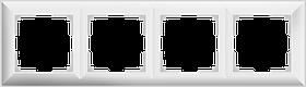 Рамка на 4 поста /WL14-Frame-04 (белый)
