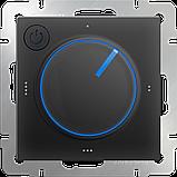 Терморегулятор электромеханический для теплого пола /WL08-40-01 (черный), фото 2
