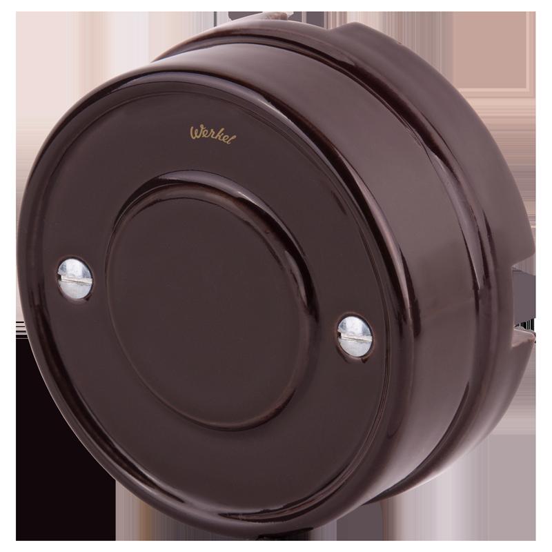 Распределительная коробка /WL18-19-01 (коричневый) Ретро