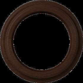 Рамка на 1 пост /WL15-Frame-01 (венге)