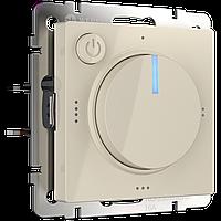 Терморегулятор электромеханический для теплого пола /WL03-40-01 (слоновая кость)
