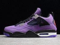 """Кроссовки Air Jordan 4(IV) """"Purple Suede"""" (40-48)"""