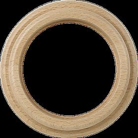 Рамка на 1 пост /WL15-Frame-01 (светлый бук)