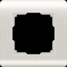 Рамка на 1 пост /WL12-Frame-01 (перламутровый)