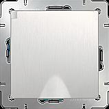 Розетка влагозащ. с зазем. с защит.крышкой и шторками /WL13-SKGSC-01-IP44 (перламутровый рифленый), фото 2